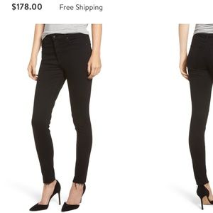 AG the legging ankle skinny size 29R raw hem jean